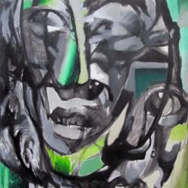"Transformers (2012), acrylic on canvas, 48""x76"""