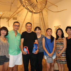 Relics of Mongolia Exhibition installation/opening reception